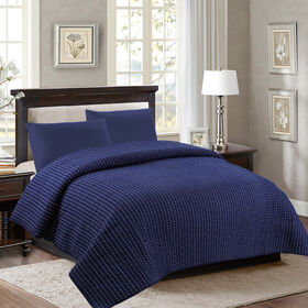 Picture of AUBREY COVERLET BLUE KI