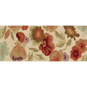 Picture of A97 Cream Floral Rug