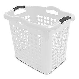 Picture of 2 Bushel Laundry Basket - White