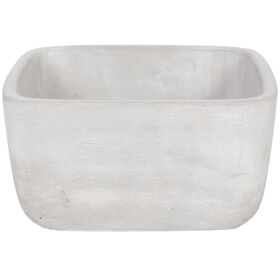 Picture of Rectangle Cement Planter 7.9-in