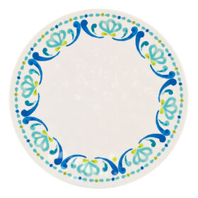 Picture of Spanish Tile Melamine Dinner Plate - Tile Rim