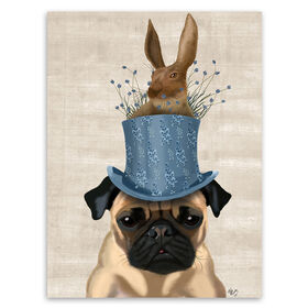 Picture of AA TEX 8X10 RABBIT HAT PUG