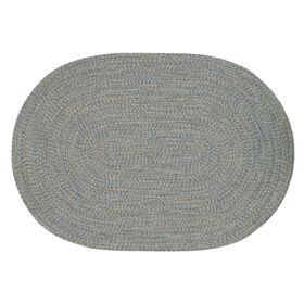 Picture of D347 PP BLU BEIGE OVAL 5X7