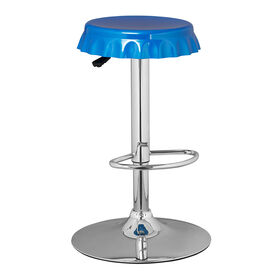 Picture of Soda Swivel Stool - Royal Blue