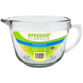 Picture of 2 Quart Batter Bowl with Glass Lid