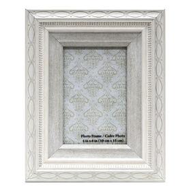 Picture of 4 X 6-in White Pattern Miranda Frame