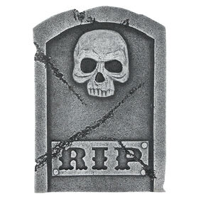 Picture of 15in Skull Tombstone