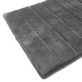 Picture of Memory Foam Rug - Gray