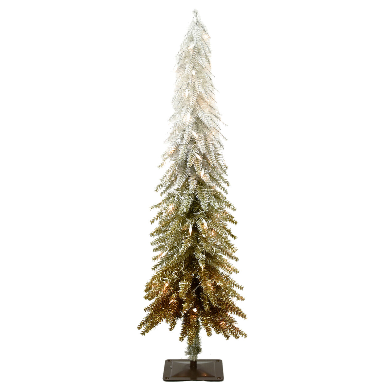 Slim Prelit Christmas Trees