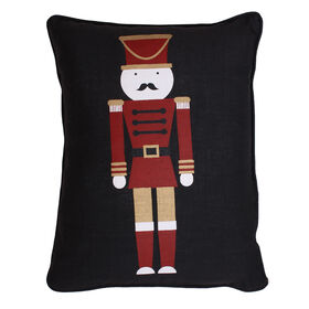 Picture of Nutcracker Christmas Pillow 14x18