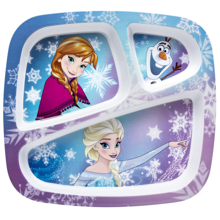Frozen 3 Section Plate