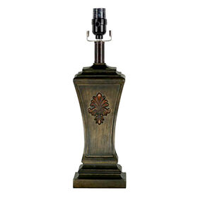 Picture of Antique Brown Table Lamp Base- 22-in