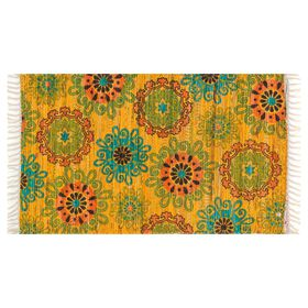 Picture of Yellow and Orange Aria Rug- 20x36 in.