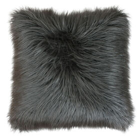 Picture of FAUX MONGOLIAN-CHARCOAL 26