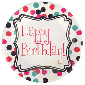 Picture of HAPPY BIRTHDAY - PLATE