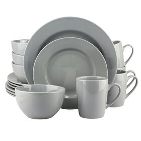 Picture of 16 PC RD DINNERWARE SET GRAY