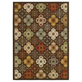 Picture of Exeter Decorative Tiles Rug 5 X 7 ft
