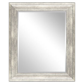 Picture of 22 X 28-in Whitewash Charlotte Mirror