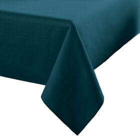 Picture of Madison Round Indigo Tablecloth 70-in