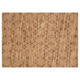Picture of B318 Brown Jute Knot Moroccan Rug