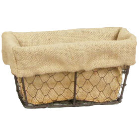 Picture of Chicken Wire Basket with Liner - Small