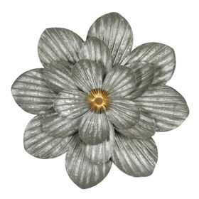 Picture of 19-in 3D Galvanized Metal Flower