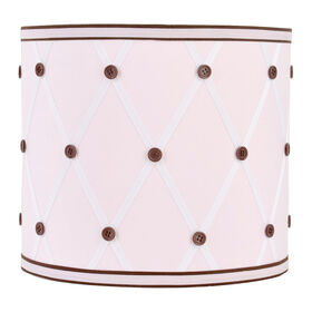 Picture of Pink Polka Dot Lamp Shade - 10 X 10 X 9