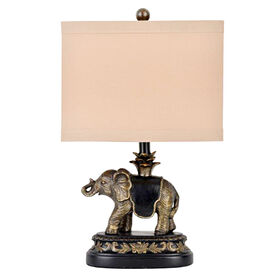 Picture of Elephant Table Lamp- 9-in (shade sold separately)