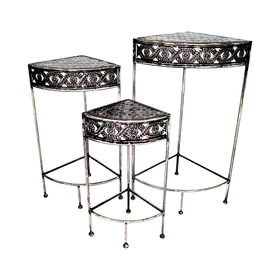 Picture of Scroll Corner Plantstand, Small (Assorted Sizes Sold Seperately)
