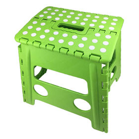 Picture of 13  FOLD STEP STOOL GRN LG