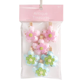 Picture of Flower Clothespins 6 Pack