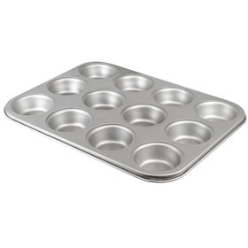 Picture of 12C CARBON STEEL MUFFIN PAN-NS