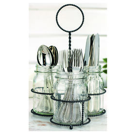 Picture of Mason Jar Flatware Caddy