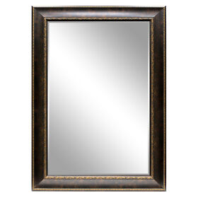 Picture of 24 X 36-in Bronze Beaded Bianca Mirror