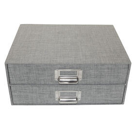 Picture of 2 DRAWER FLAT FILE-GREY