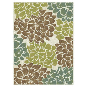 Picture of D247 Beige Floral Studio Rug
