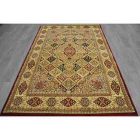 Picture of A71 Red Deluxe Panel Rug