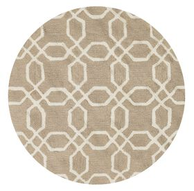 Picture of FRAC GEO BEIGE 3X3 ROUND