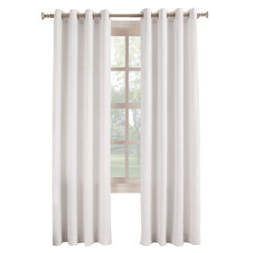 Picture of White Donovan Window Curtain Panel 95-in