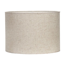 Picture of Round Lamp Shade- White &Tan