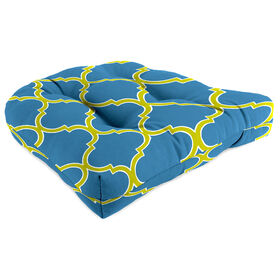 Picture of Patio Chair Outdoor Seat Cushion - Cobalt