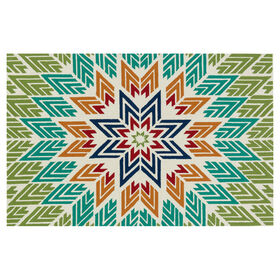 Picture of E135 Aztec Multicolor Rug