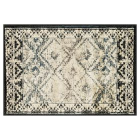 Picture of Calypso Rug- Black & Ivory 3x5-ft