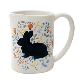 Picture of MUG STONEWARE BUNNY DESIGN