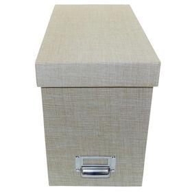 Picture of FILE BOX-LINEN