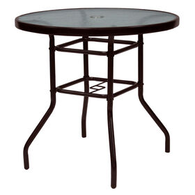 Picture of 30 in. Steel Brown Round Bistro Table