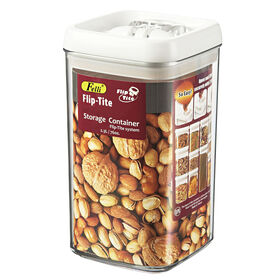 Picture of 76-oz Felli® Flip-Tite Food Storage Tall Square Canister