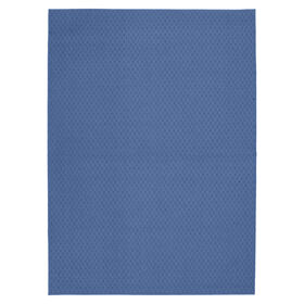 Picture of Solid Blue Town Square Accent Rug 17 X 27-in