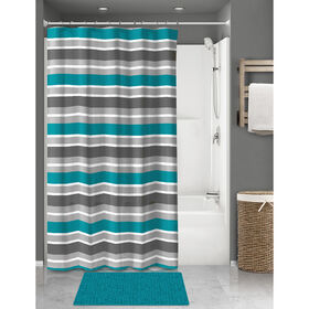 Picture of WENDY 15PC CHENLL RUG SET-TEAL