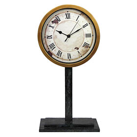 Picture of 19-in. Roman Numeral Clock on Stand